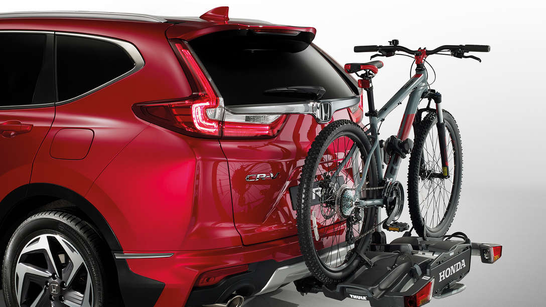 Rear-/zijaanzicht Accessoirepakketten Honda CR-V.