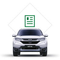 Icoon brochure Honda CR-V Hybrid.