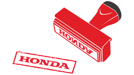 Honda Warranty Stamp