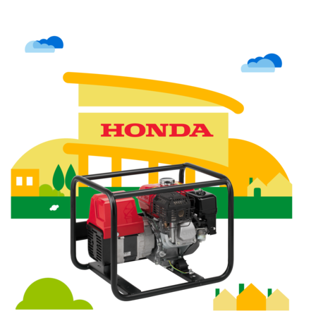 Generator dealer illustration.