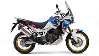 Zijaanzicht van Honda Africa Twin Adventure Sports