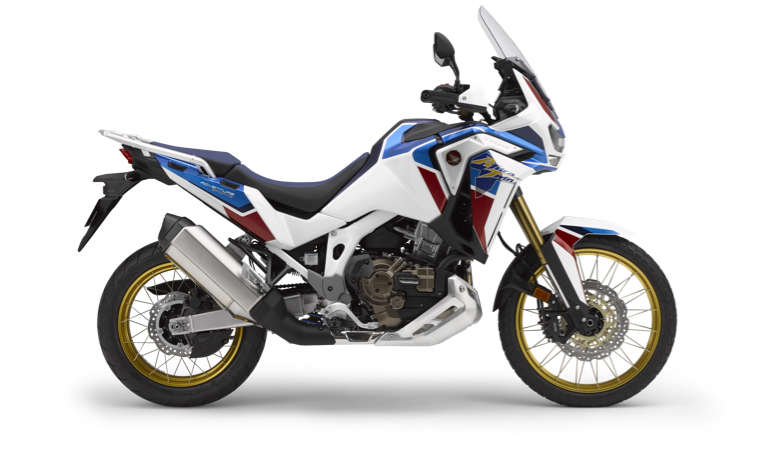 Honda Africa Twin Adventure Sports, in de studio, rechterkant