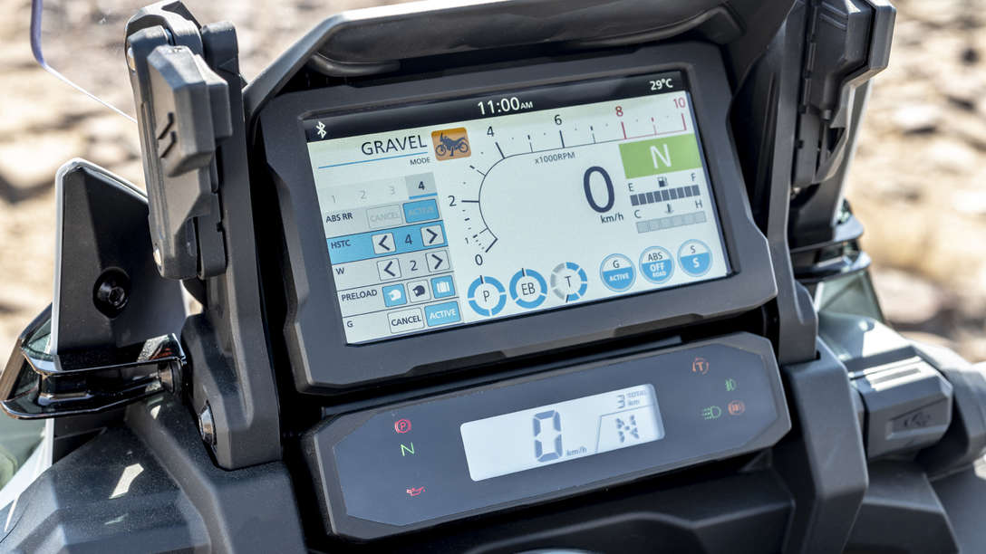 CRF1100L Multi Information Display