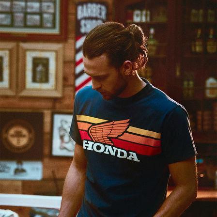 Honda-logo op T-shirt