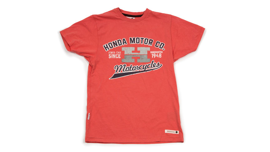 Rood T-shirt met 'Big H' design